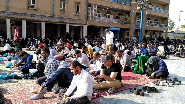 آیین پرفیض دعای عرفه در اهواز برگزار شد