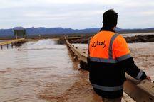 سیلاب ۶ مسیر در سیستان و بلوچستان را بست