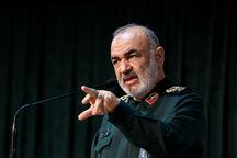 سردار سلامی: امنیت خط قرمز نیروهای مسلح است