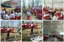 آمادگی نجاتگران هلال احمر گیلان برای اجرای طرح های نوروزی