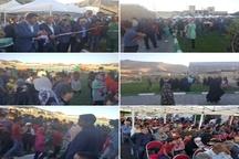 پارک ملت خرم آباد با حضور شهردار و اعضای شورای شهر افتتاح شد