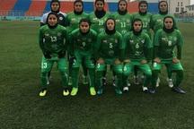 تیم فوتبال بانوان ذوب آهن، خلبج فارس شیراز را شکست داد