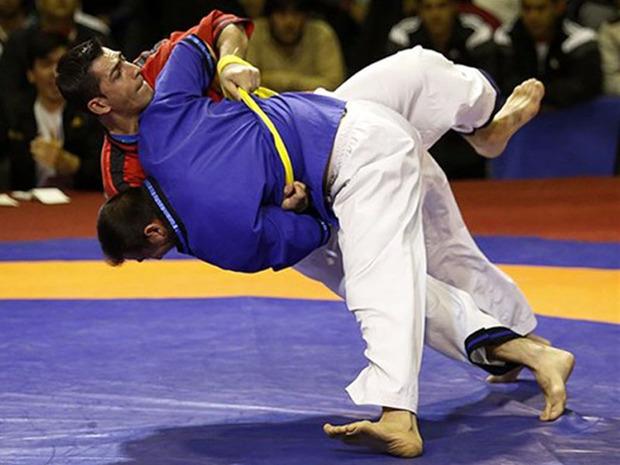 گلستان الف قهرمان رقابت های کشتی آلیش قهرمانی کشور شد