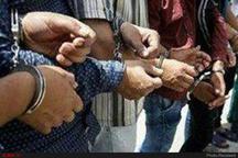 دستگیری سارقان طلافروشی در شهرستان صحنه