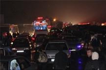 آبگرفتگی معابر مشهد ترافیک را گره زد