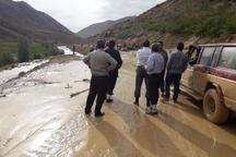 سیلاب به روستاهای منطقه سرحدات خسارت زد