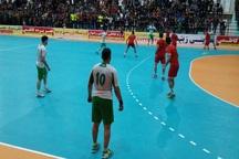 تیم هندبال ذوب آهن اصفهان فرازبام دهدشت را شکست داد