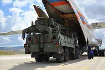 ترکیه سه محموله از سامانه موشکی اس-400 را تحویل گرفت