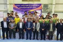 اردبیل قهرمان مسابقات ژیمناستیک هنری جوانان کشور شد