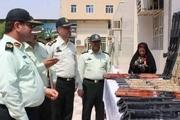 ۲۱۱ قبضه سلاح غیر مجاز در خوزستان کشف شد
