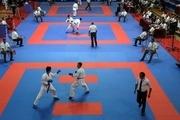 مسابقات بین المللی کاراته در کرمانشاه آغاز شد