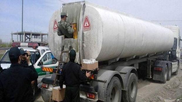 35 هزار لیترسوخت قاچاق در همدان کشف شد