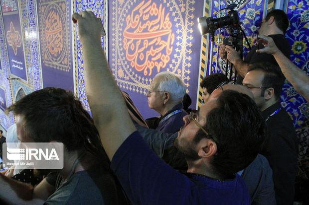 ۳۰ گردشگر خارجی عزاداری روز عاشورا را در مهریز ثبت کردند