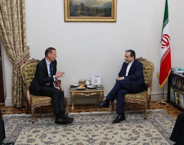 توییت عباس عراقچی پس از دیدار مشاور رئیس جمهور فرانسه