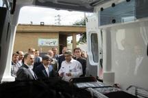 هفت دستگاه آمبولانس به تهیزات اورژانس استان اردبیل افزوده شد