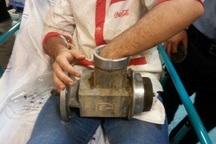 چرخ گوشت صنعتی دست کارگر جوان را بلعید