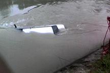 مرگ 4 نفر از خانواده مازندرانی با سقوط پراید در داخل کانال آب