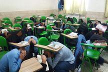 مانور زلزله در ۱۳۰ آموزشگاه خراسان جنوبی برگزار شد