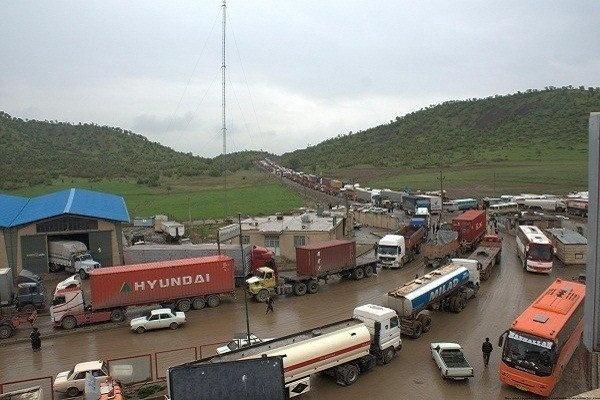 افزایش ۵۹ درصدی حجم کل مبادلات کردستان در سال جاری