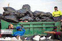 شهرداری تهران ۷۳ هزار تن زباله از مسیر اربعین جمعآوری کرد