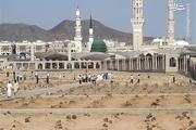 محل دفن امام صادق(ع) در قبرستان بقیع + عکس