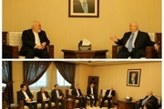 دیدار ظریف با وزیر خارجه سوریه
