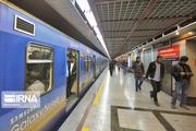 کاهش سرفاصله حرکت قطارهای خط یک مترو در روز اربعین