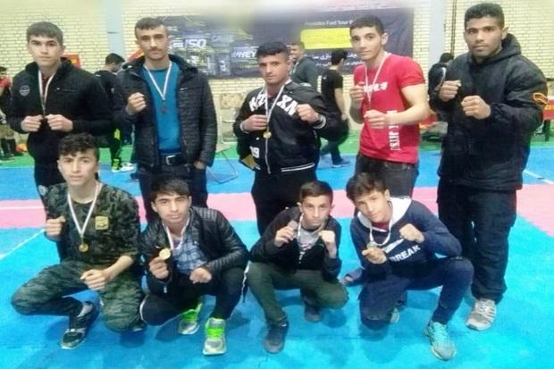 رزمی کاران قزوینی به هشت مدال کشوری دست یافتند