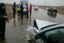 حال هشت مصدوم حادثه برخورد سواری با آمبولانس مناسب است