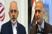 گفتوگوی ظریف با وزیر خارجه عراق در آستانه سفر رئیسجمهور به این کشور