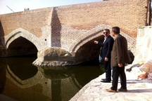 پل «سیدآباد» اردبیل منتسب به دوره صفوی مرمت شد