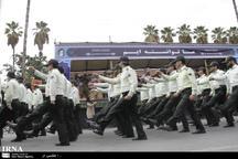 رژه نیروهای مسلح در نوشهر برگزار شد