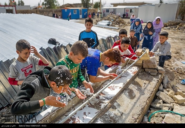 کمبود آب، مشکل زلزله زدگان مناطق روستایی سرپل ذهاب