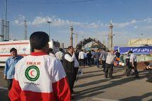 ۴ تیم امدادی هلال احمر کهگیلویه مراسم تشییع آ میراحمد تقوی را پوشش میدهند