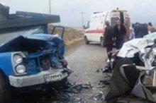 تصادف در محور فراشبند - فیروزآباد 2 کشته و پنج مصدوم داشت