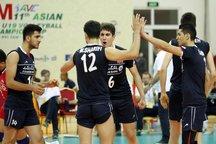 پیروزی قاطع ایران مقابل بنگلادش / راهیابی والیبالیست های نوجوان به جمع 8 تیم پایانی