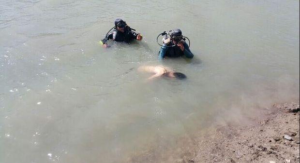 جسد راننده کامیون غرق شده در رودخانه ارس پیدا شد
