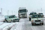 آخرین وضعیت راههای خراسانرضوی  ممنوعیت تردد کامیونها در محور قوچان-درگز