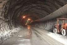 حفر تونل کبیرکوه از سمت آبدانان پایان یافت