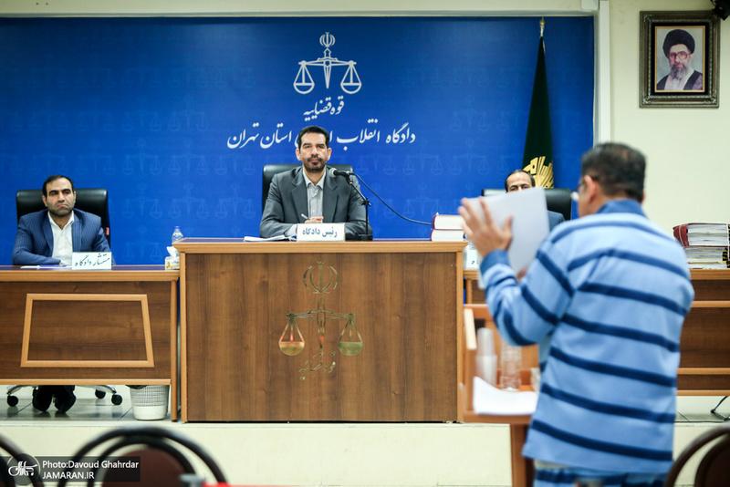 ششمین جلسه دادگاه رسیدگی به اتهامات حسین هدایتی