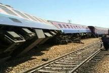 خروج قطار زنجان-تهران از ریل  آسیبی به مسافران نرسید