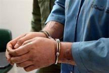 سارق خودروی مزدا ۳ در قزوین دستگیر شد
