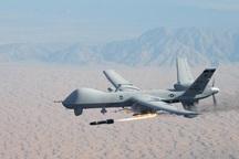 بمباران هوایی انبار مهمات الحشد الشعبی عراق