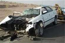 2 تصادف در ورودی محور جنگل گلستان به بجنورد 17مجروح داشت