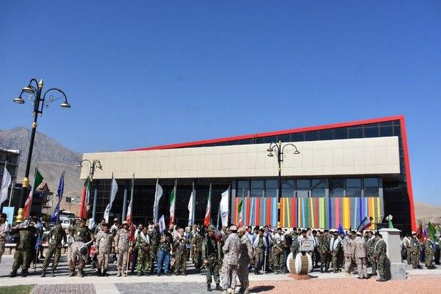 700 بسیجی در رزمایش اقتدار عاشورایی ماکو شرکت کردند