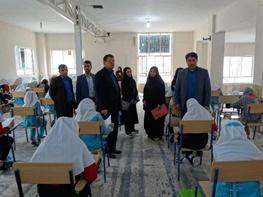 آزمون ورودی مدارس استعدادهای درخشان برگزار شد