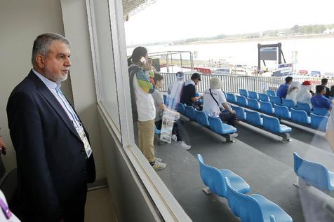 دیدار مجدد صالحی امیری با مدیران ارشد IOC