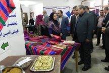 نمایشگاه صنایع دستی در مینودشت گشایش یافت