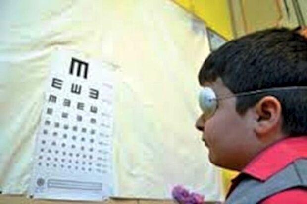 درمان تخصصی بینایی ۲۱۴ کودک در کوهدشت انجام شد