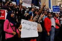 تظاهرات علیه واگذاری جزایر مصری به عربستان/دستگیری ۱۲ معترض